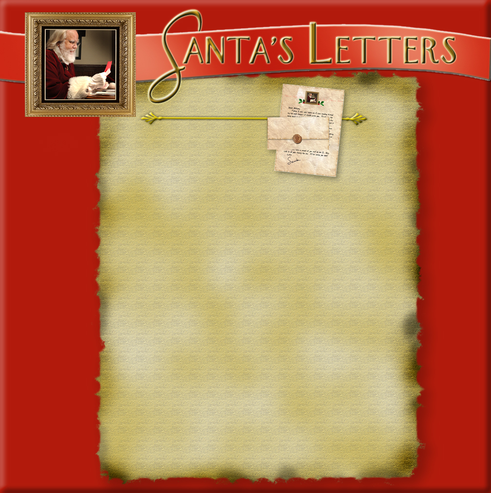 Santa Letter Backgrounds Santa's Hope Letters to Santa